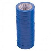 Matrix Набор изолент ПВХ 15 мм х 10 м, синяя, в упаковке 10 шт, 150 мкм Matrix фото