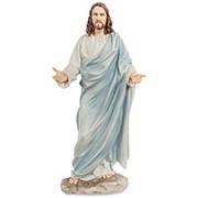 """Скульптура """"Иисус"""" / Библейские сюжеты 11,5х30х8см. арт.WS-515 Veronese фото"""