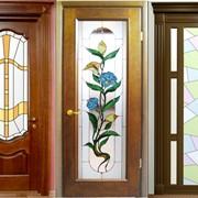 Двери межкомнатные деревянные Алматы на заказ фото