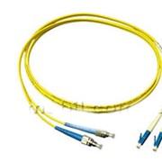Переходник волоконно-оптический патч-корд LC-FC SM G9 Nm Dupplex фото