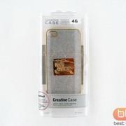 Накладка iPhone 4S BURBERRY (Creative Case) серебро 70508k фото