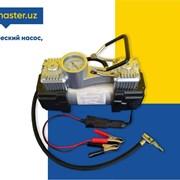 Портативный двухцилиндровый компрессор фото