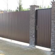 Стальные ворота, фото