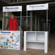 Изготовление промо-столов для рекламных акций фото