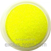 Жёлтый глиттер-5 грамм-0,2 мм фото