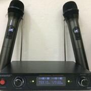Радиосистема Shure-800 микрофоны на батарейках фото