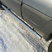 Пороги Chevrolet Niva 2009-наст. время (труба 60 мм) фото