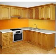 Кухонный гарнитур из дерева фото