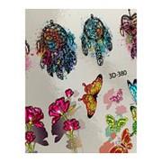 Anna Tkacheva, 3D-слайдер Crystal №380 «Бабочки. Ловец снов» фото