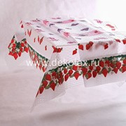 Скатерть 3D/Strawberry 120х165см (1/20) фото