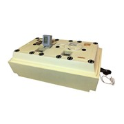 Инкубатор - Золушка-2020 на 98 яиц, 220В/12В, автоматический поворот, ЖК дисплей (температура, влажность, фото