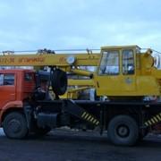Автокран КС-3577-3К на шасси КАМАЗ/16 тонн фото