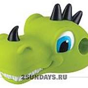 Насадка на руль Динозавр зеленый фото