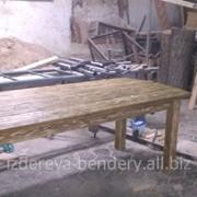 Дачная Деревянная мебель под старину(состаринная мебель) фото