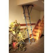 Изготовление чердачной лестницы . лестнаца раскладная с утепленным проемом не занимающая полезную площадь фото