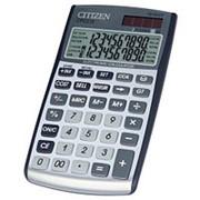 Калькулятор карманный 10 разрядный Citizen CPC 210 GL фото