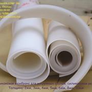 Силиконовая мембрана для вакуумных столов, силиконовая резина фото