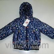 Куртка зимняя под пояс унисекс фото