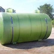 Пожарный резервуар для воды НЕ-25-2000 фото