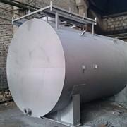 Резервуар горизонтальный стальной надземный — 50 м3 фото