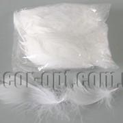 Перья белые 6-13 см 100 шт 570825 фото