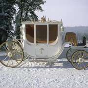Свадебная карета модель 3 фото