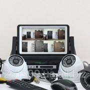 Комплект видеонаблюдения 2х2 GreenVision фото
