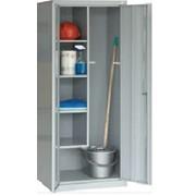 Хозяйственный металлический шкаф SMD 62 фото