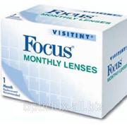 Линзы контактные Focus Visitint Monthly фото