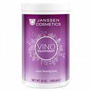 Janssen Janssen Роскошный ревитализирующий скраб для тела с экстрактом листьев винограда (Vino Enjoyment / Luxury Reviving Scrub) P-8674P 1000 г фото