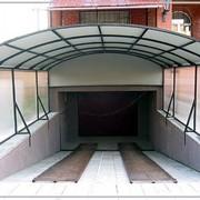 Изготовление металлических конструкций (решёток, ворот, навесов, оград, козырьков, пр.) фото