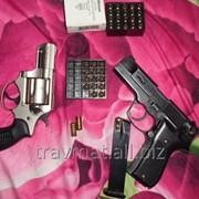 WALTHER P88 COMPACT 9mm. и Немецкий Револьвер Магнум 9mm. фото