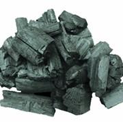 Уголь древесный дубовый фото