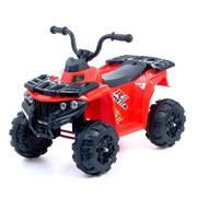 Электромобиль «Квадрик», цвет красный фото
