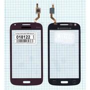 Сенсорное стекло (тачскрин) для Samsung Galaxy Core Duos GT-I8262 красное, Диагональ 4.3 фото