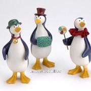 Статуэтка Пингвины фото