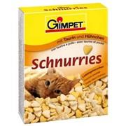 Витаминная добавка для кошек 650 таб Gimpet Сердечки ципленок фото