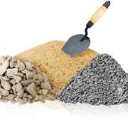 щебень гранитный и доломитовый. Песок фото