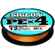 Плетеный шнур SUNLINE SIGLON PE 4 #1.0 (0,165мм) 150м оранжевый фото