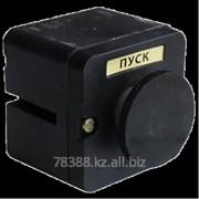 Кнопка ПКЕ 222-1 (грибок черный) фото