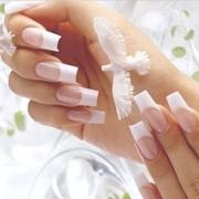 Гелевое наращивание ногтей, покрытие Shellac (гель- лаком) фото