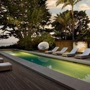 Ландшафтный дизайн дома возле моря фото