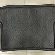 Коврик в багажник Toyota RAV4 2006-2012 (полиуретановый с бортиком короткий) фото