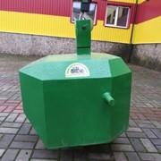 Противовес Tridaagro трех точечный передний на трактор (716 кг.) фото