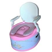 Детский горшок Liko Baby розовый фото