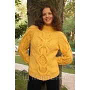 Вязанные свитера фото