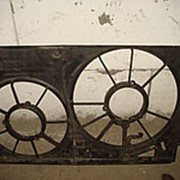Диффузор под два вентилятора для автомобилей Volkswagen, Audi, Skoda 1K0121207 фото