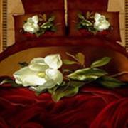 """Комплект постельного белья Сатин 3Д (КПБ) """"Амели"""" фото"""