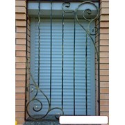 Решетки на окна металлические кованые фото