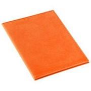 Обложка для автодокументов Twill, оранжевая фото